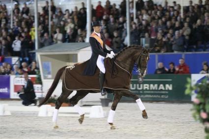 Minderhoud en Tango, kampioenen 2011