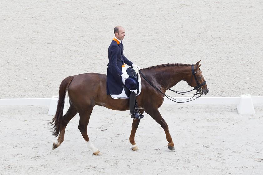 Hans Peter Minderhoud en Tango