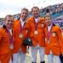 Oranje showt zilveren medaille