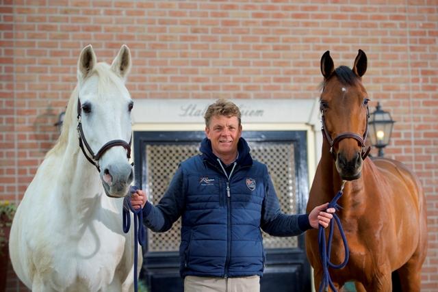 Jeroen Dubbeldam met De Sjiem en Zenith. Foto: Wendy Scholten