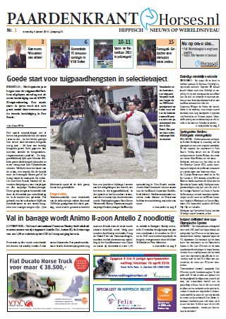 cover paardenkrant