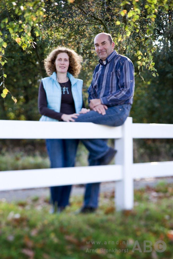 Joyce Nieberg en Ruud Bogerd Foto: Arnd Bronkhorst / www.arnd.nl