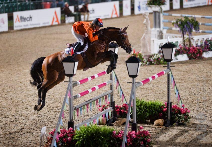 Angelique Hoorn en Blauwendraad's O'Brien Foto: Arnd Bronkhorst / www.arnd.nl