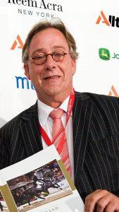 Jacob Melissen, hippisch journalist. Foto: Arnd Bronkhorst / www.arnd.nl