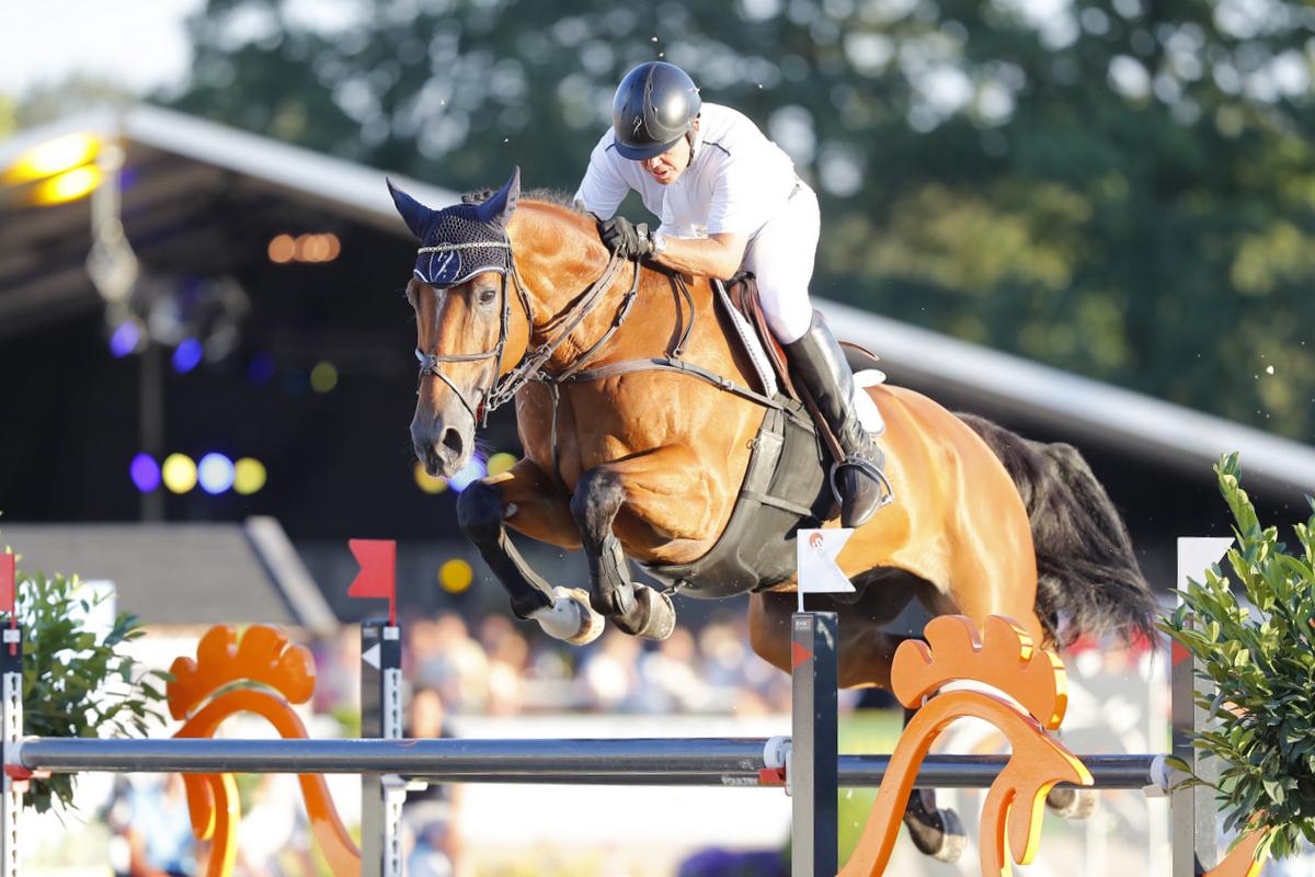 Wout-Jan van der Schans net naast het podium in Rankingproef Oliva - Horses.nl