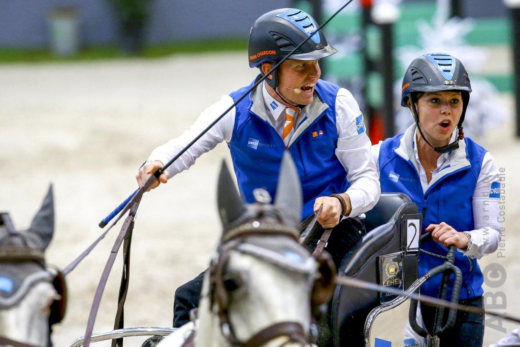 Exell wint eerste wedstrijd in Maastricht, Bram Chardon tweede - Horses.nl