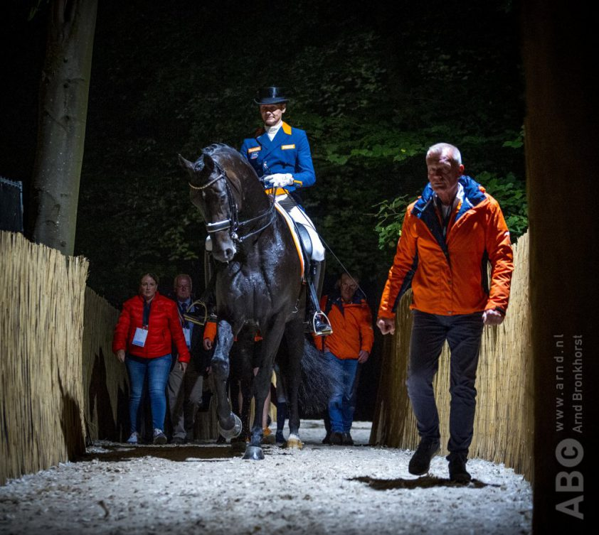 Edward Gal, Alex van Silfhout en Nicole Werner EK Rotterdam